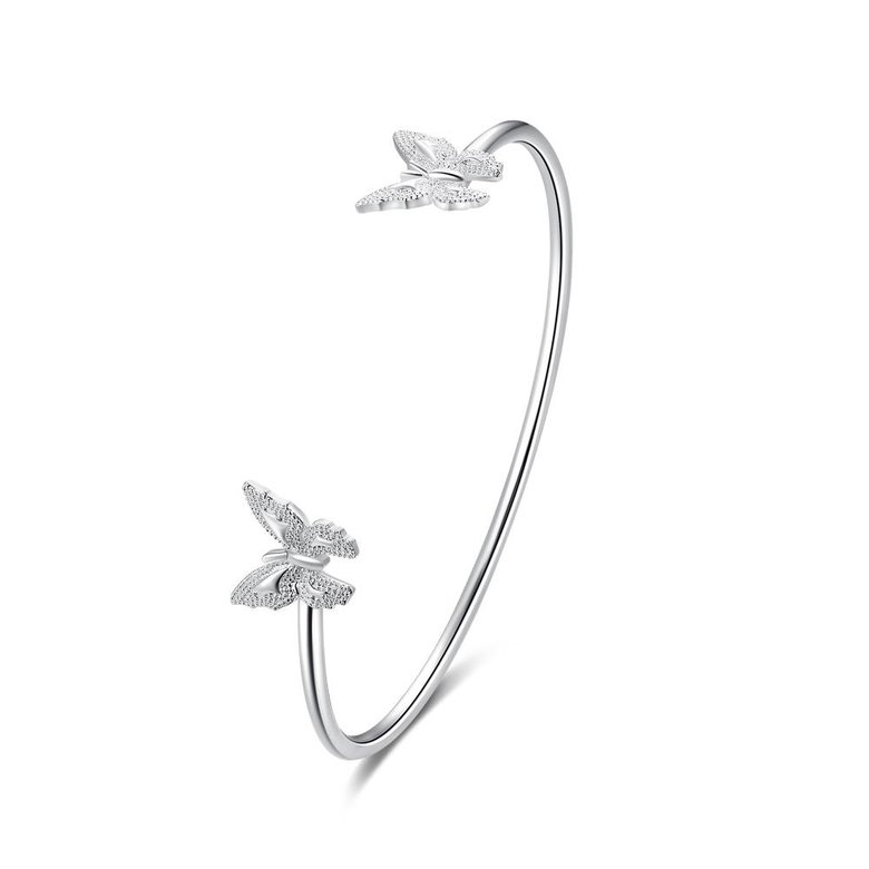 Wholesale Classic Silver Insect Bangle&Cuff TGSPBL153