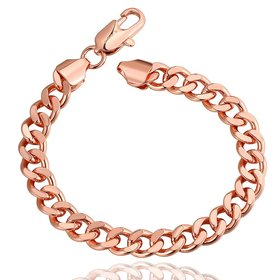 Wholesale Classic Rose Gold Geometric Bracelet TGGPB097