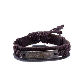 Wholesale Trendy Black Gun Geometric Bracelet TGLEB228