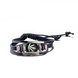 Wholesale Trendy Antique Silver Geometric Bracelet TGLEB175