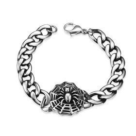 Vintage 316L stainless steel Animal Bracelet