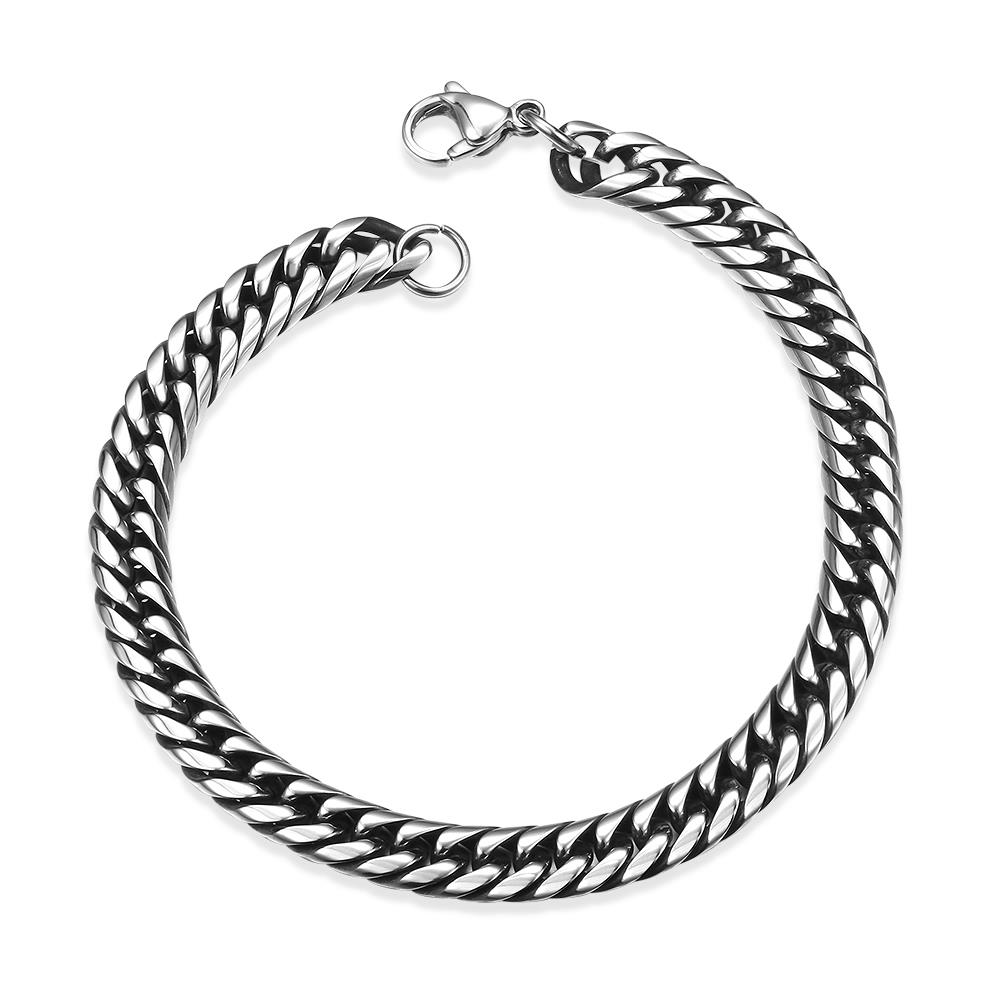 Wholesale Rock 316L stainless steel Geometric Bracelet TGSMB033