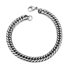 Rock 316L stainless steel Geometric Bracelet