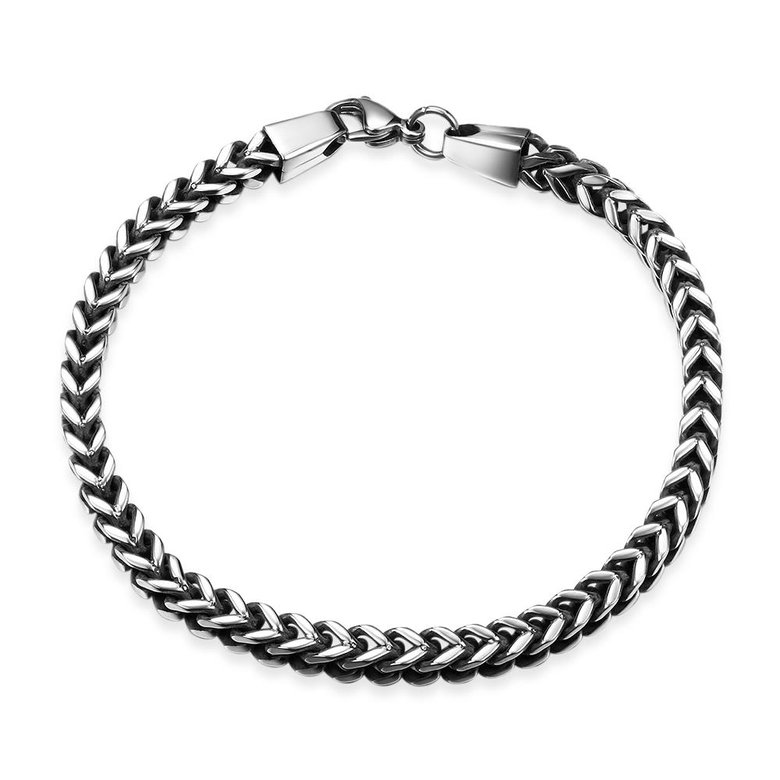 Wholesale Vintage 316L stainless steel Figure Bracelet TGSMB037