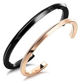 Wholesale New Fashion Stainless Steel Couples BraceletLovers ASMB125 TGSMB017