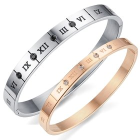 Wholesale New Fashion Stainless Steel Couples BraceletLovers TGSMB019