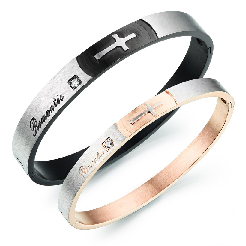Wholesale New Fashion Stainless Steel Couples BraceletLovers TGSMB020