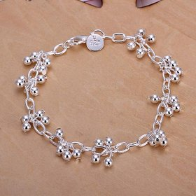 Classic Silver Ball Bracelet