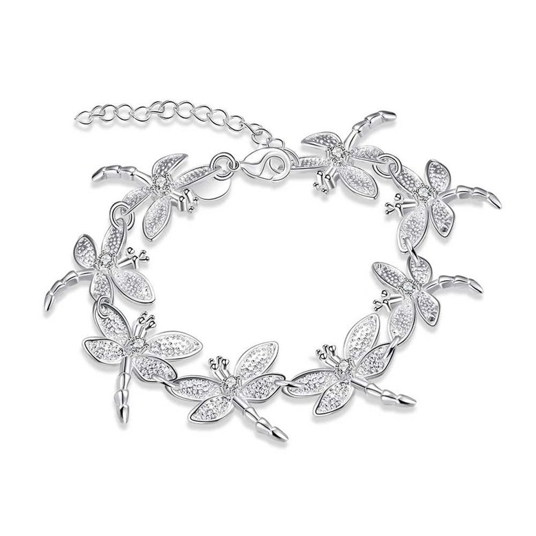 Wholesale Romantic Silver Animal Bracelet TGSPB071