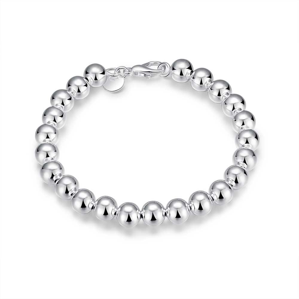 Wholesale Romantic Silver Ball Bracelet TGSPB081