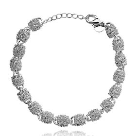 Wholesale Trendy Silver Lock Bracelet TGSPB007