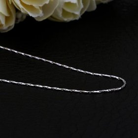 Wholesale Romantic Platinum Geometric Chain Nceklace TGCN015