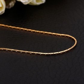 Wholesale Trendy 24K Gold Geometric Chain Nceklace TGCN017
