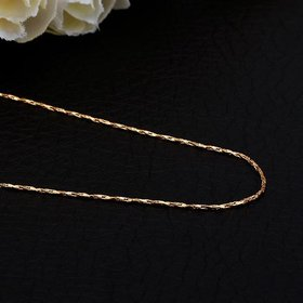Wholesale Romantic 24K Gold Geometric Chain Nceklace TGCN019