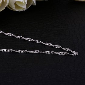 Wholesale Trendy Platinum Geometric Chain Nceklace TGCN029