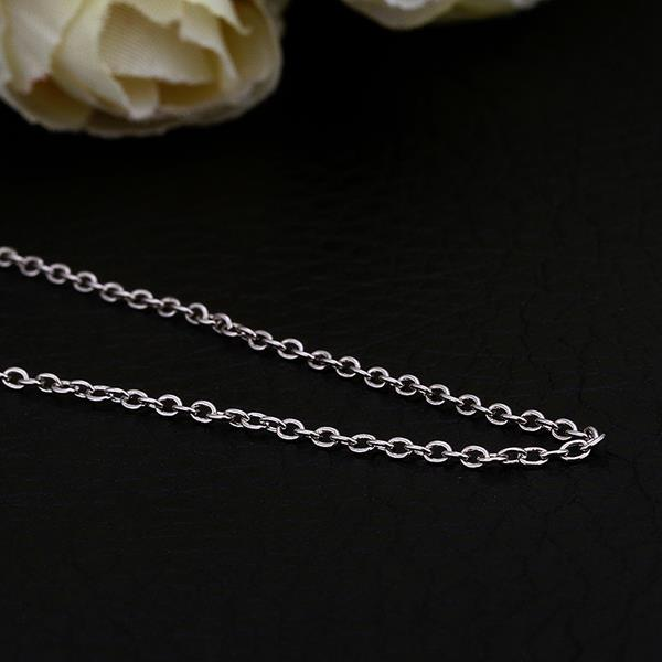 Wholesale Trendy Platinum Geometric Chain Nceklace TGCN034