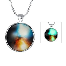 Trendy Sky FireIce Noctilucent Necklace