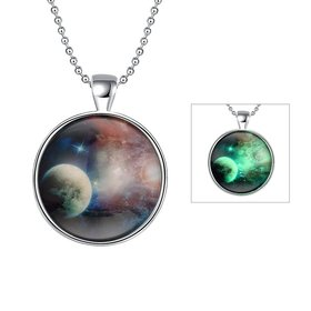 Wholesale Trendy Vast Sky Luminous Necklace TGLP023