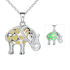 Wholesale Trendy Silver Animal Necklace TGLP051