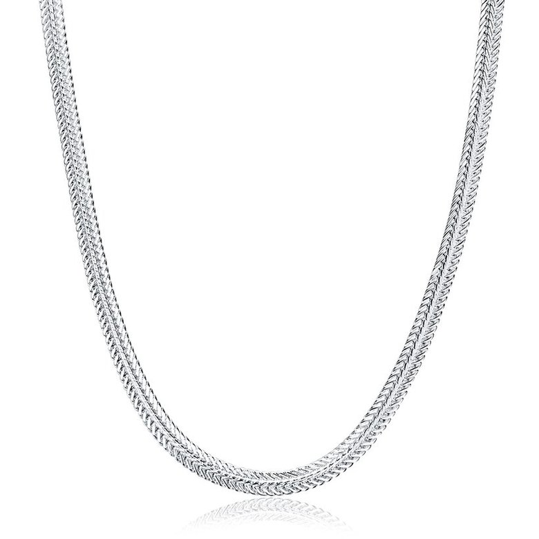 Wholesale Trendy Silver Round Necklace TGSPN463