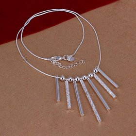 Wholesale Trendy Silver Cross Necklace TGSPN638