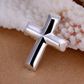 Wholesale Trendy Silver Cross Pendants TGSPP048