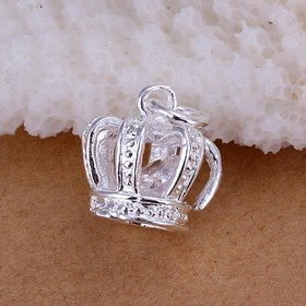 Wholesale Romantic Silver Cross CZ Pendants TGSPP069