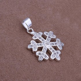 Wholesale Trendy Silver Animal CZ Pendants TGSPP088