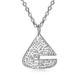 Wholesale Creative Pure S925 Sterling Silver pendant Necklace TGSSN023