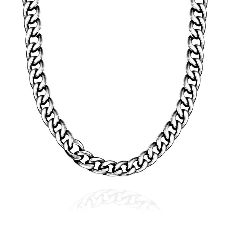 Wholesale Punk 316L stainless steel Geometric Necklace TGSTN111