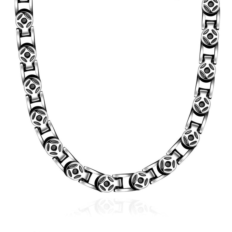 Wholesale Punk 316L stainless steel Geometric Necklace TGSTN113