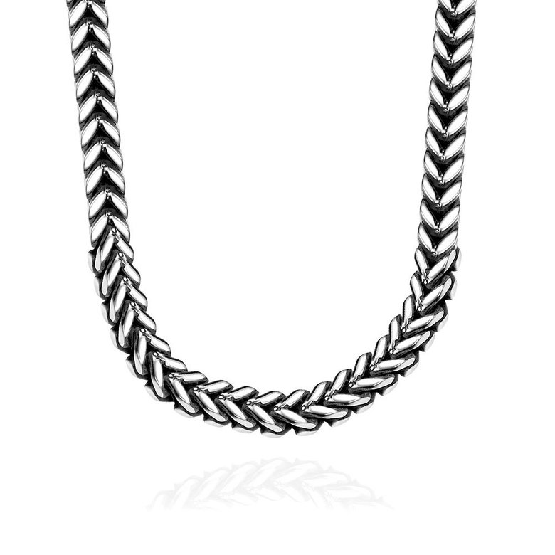 Wholesale Punk 316L stainless steel Geometric Necklace TGSTN115