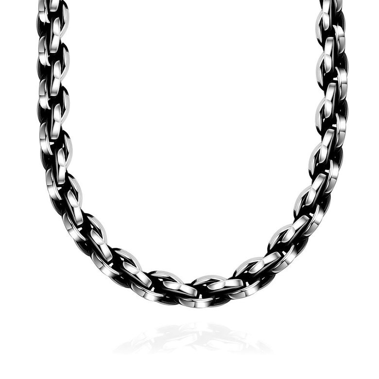 Wholesale Punk 316L stainless steel Geometric Necklace TGSTN117