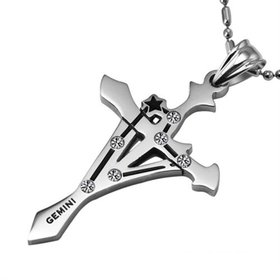 Gemini Constellations 316L Stainless Steel Necklace