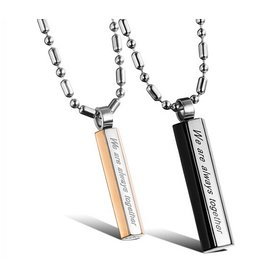 Wholesale Fashion Stainless Steel Couples PendantsLover TGSTN056