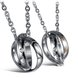 Wholesale Fashion stainless steel couples Necklace TGSTN001