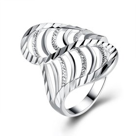 Fashion wholesale jewelry Europe America Creative Trendy Silver Plated araneose Ring for Unisex finger wholesale jewelry