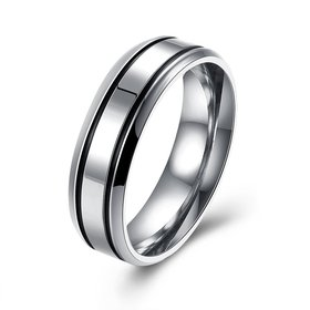 Wholesale Personalized Wedding Ring Couples Love Stainless Steel for Men rings Zircon Stone Charm Gifts Drop shipping TGSTR037