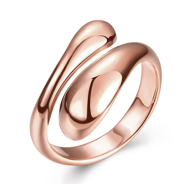 Wholesale Classic Rose Gold Geometric Ring TGGPR207